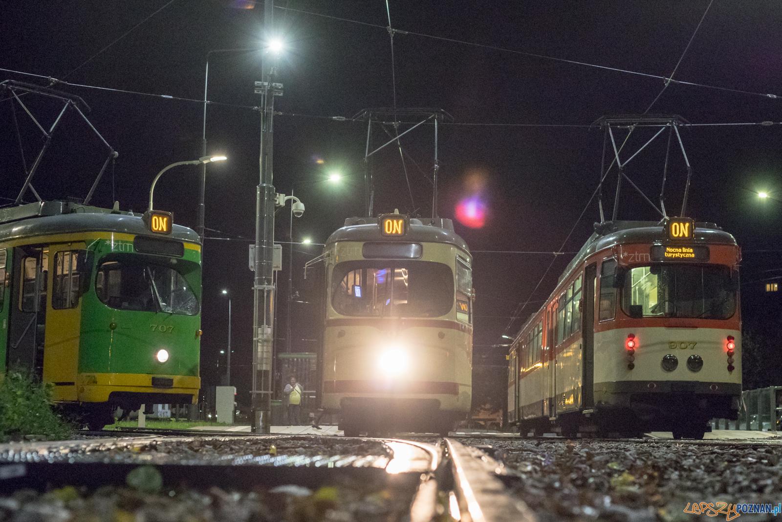 Ostatni kurs nocnej linii turystycznej w sezonie  Foto: lepszyPOZNAN.pl/Piotr Rychter