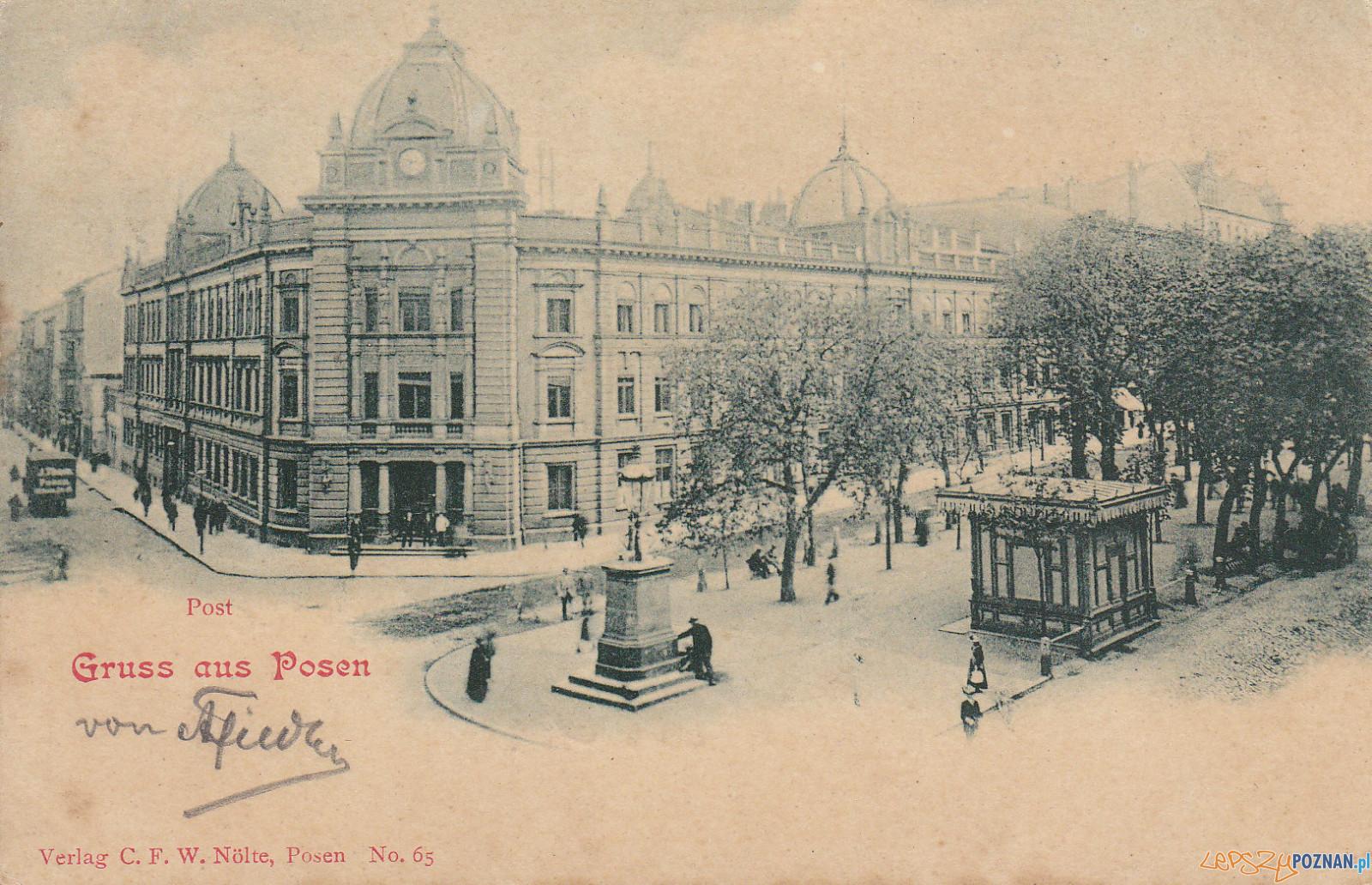 Studzienka przy Al. Marcinkowskiego  Foto: Biblioteka Raczyńskich