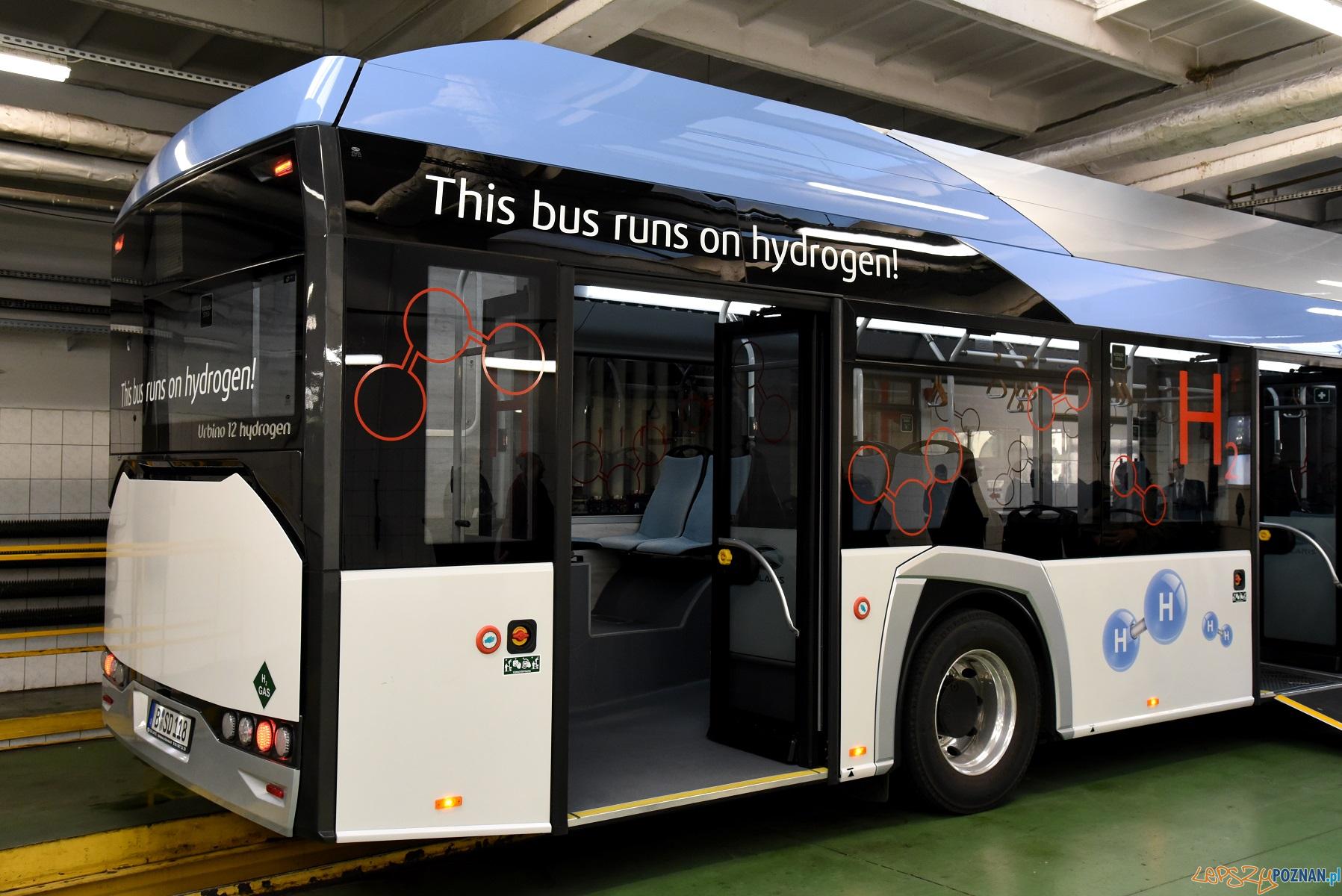 Solaris Urbino 12 hydrogen  Foto: materiały prasowe UMP