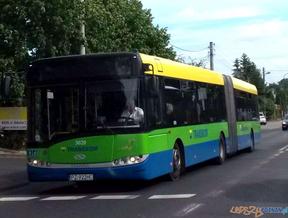 Autobus Transkom - Czerwonak  Foto: ZTM