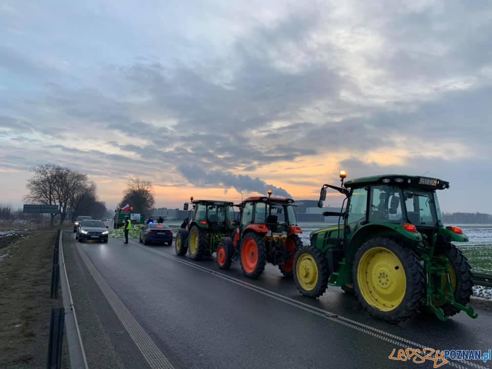 Protest rolników  Foto: Agrounia