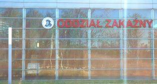 Oddział Zakaźny Szpitala Miejskiego im. Józefa Strusia w Poznaniu  Foto: lepszyPOZNAN / tab