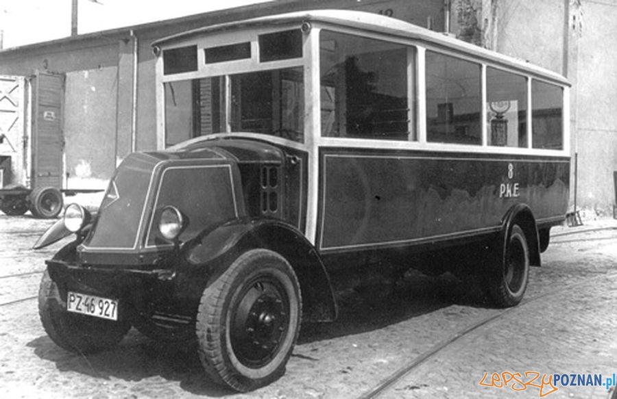 Renault 1928 r.  Foto: MPK Poznań