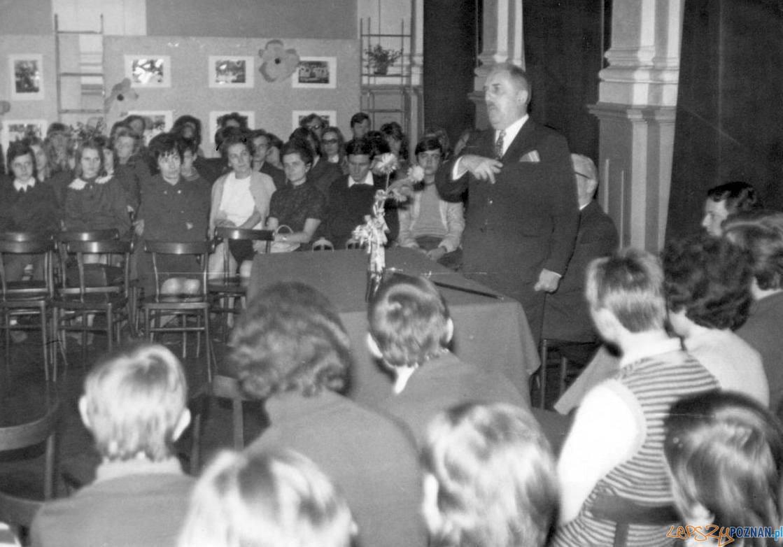 Jerzy Waldorff i Alojzy Andrzej Łuczak - Rybaki Tech. Budowlane Pro Sinfonica 6 kwietnia 1972 Foto: Krystyna Bieniek