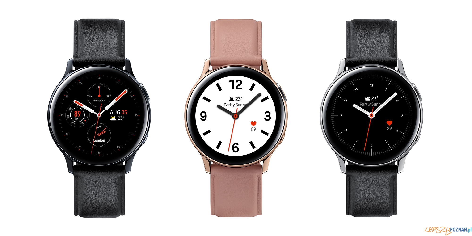 Galaxy Watch Active2 stal nierdzewna  Foto: Samsung