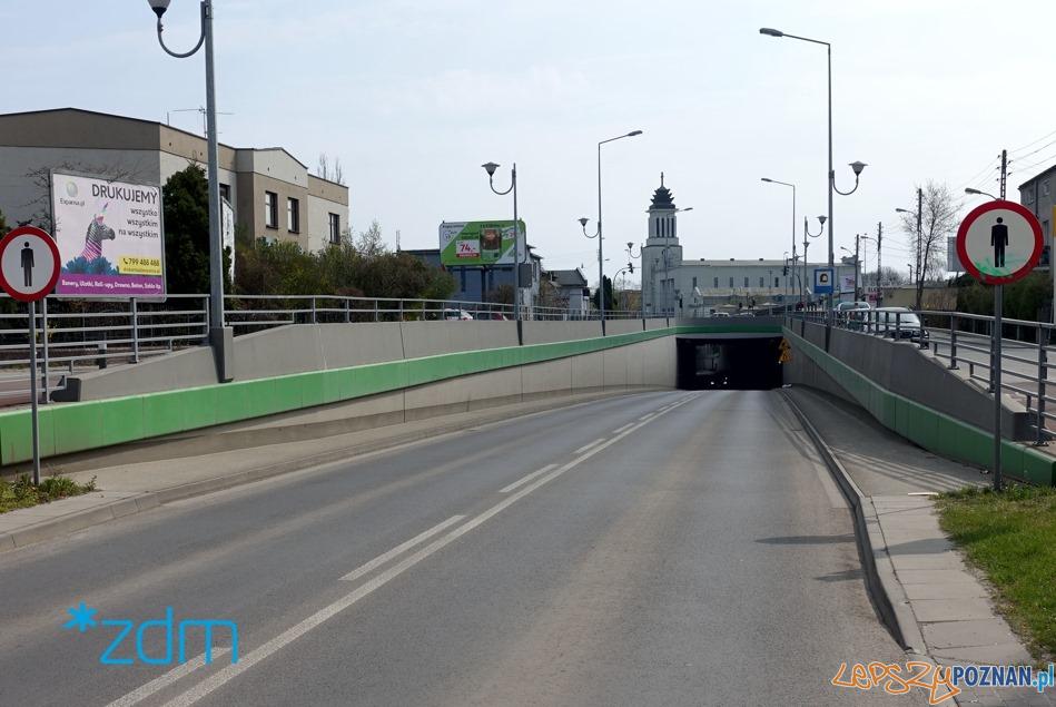 Dębiec tunel  Foto: ZDM