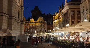 Stary Rynek - ogródki  Foto: lepszyPOZNAN - S9+
