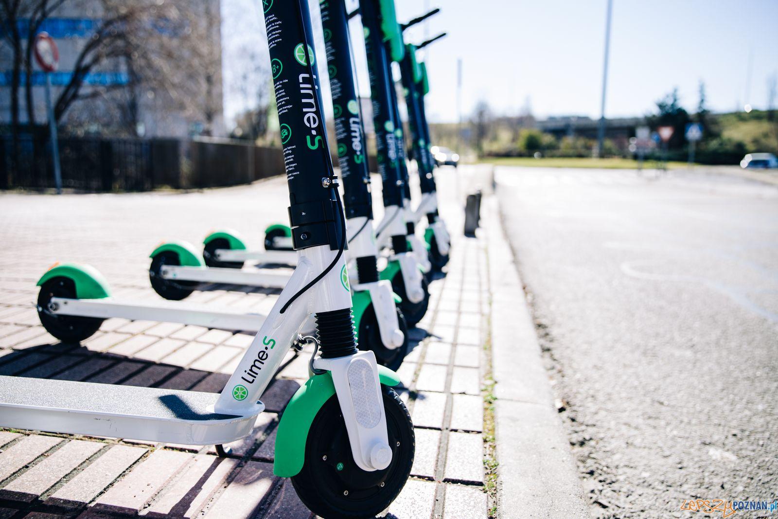 E-hulajnogi Lime wracają do Poznania  Foto: materiały prasowe