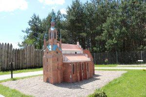 Makieta katedry pw. Świętego Mikołaja w Kaliszu  Foto: UMiG Pobiedziska