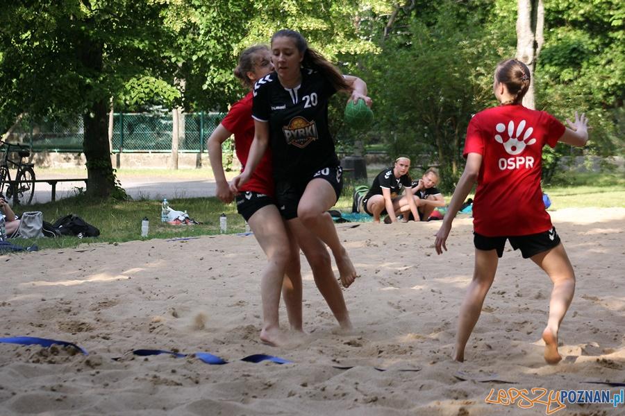 Turniej piłki plażowej dziewczyny Foto: sportowy-poznan.pl / Elżbieta Skowron