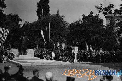 Pomnik Wilsona odsloniecie 1931 [IKC NAC] (3)  Foto: IKC NAC