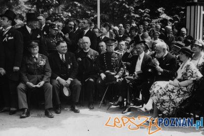 Pomnik Wilsona odsloniecie 1931 [IKC NAC] (1)  Foto: