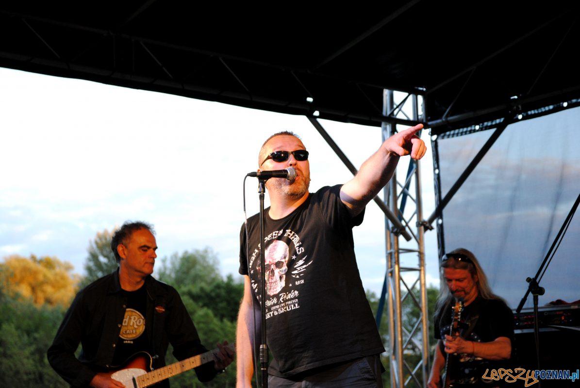 Koncert Sołacki nad Rusałką - Blue Wave Band Foto: Katarzyna Lonowska