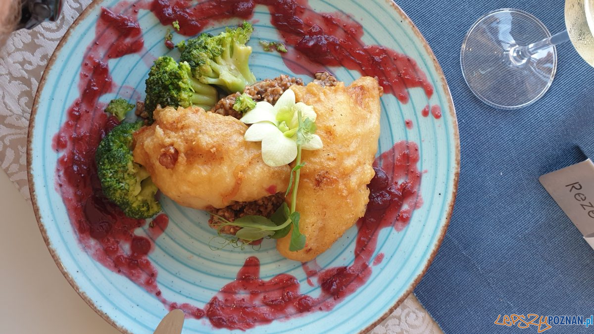 Ryba w tempurze - restauracja Pergola, Kołobrzeg Foto: lepszyPOZNAN / S9+