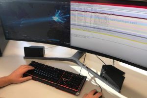 Komputer haker  Foto: Biuro Prasowe Policji