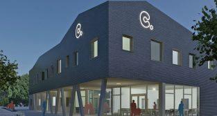 Nowy budynek GOPS  Foto: wizualizacja MSA