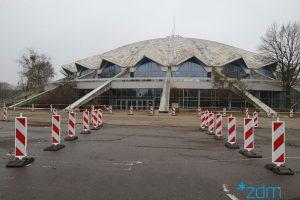 Tymczasowy parking dla mieszkańców Łazarza  Foto: materiały prasowe / ZDM