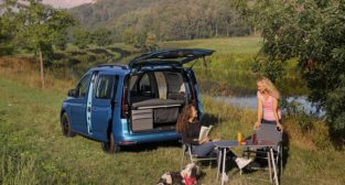 VW Caddy California  Foto: VW materiały prasowe