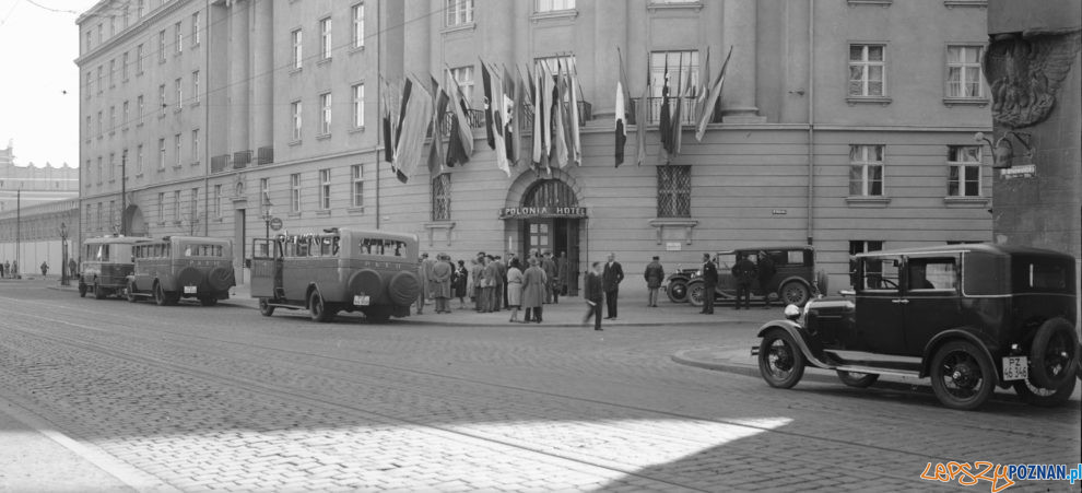 Grunwaldzka Hotel Polonia 1929  Foto: NAC / IKC / domena publiczna