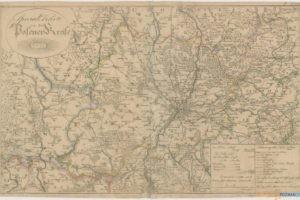 Atlas von dem Regierungs Departement im Groβherzogthum Posen  Foto: Biblioteka Raczyńskich