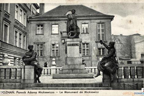 Pomnik Mickiewicza na Marcinie  Foto: Tomasz Dworek