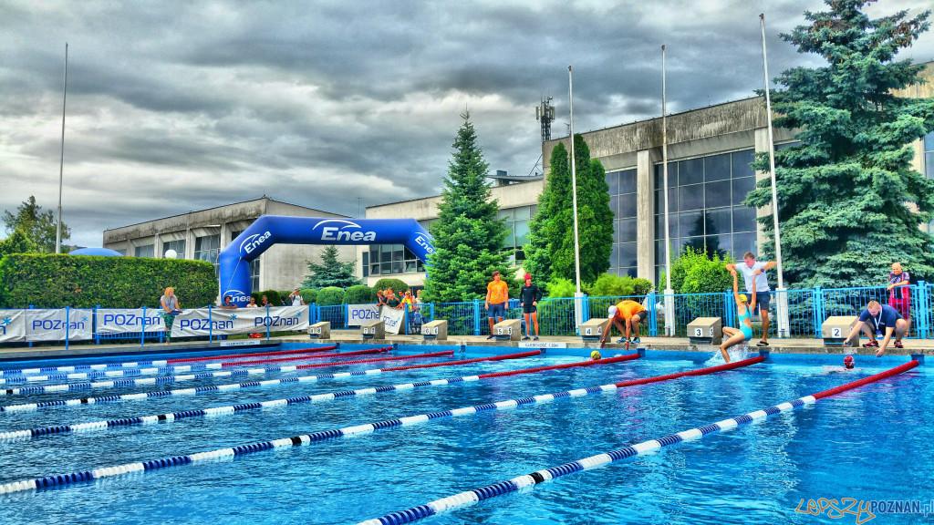 Basen 50-metrowy Chwiałka podczas zawodów triathlonowych fot. Bartosz Jasiński Foto: Bartosz Jasiński / POSiR