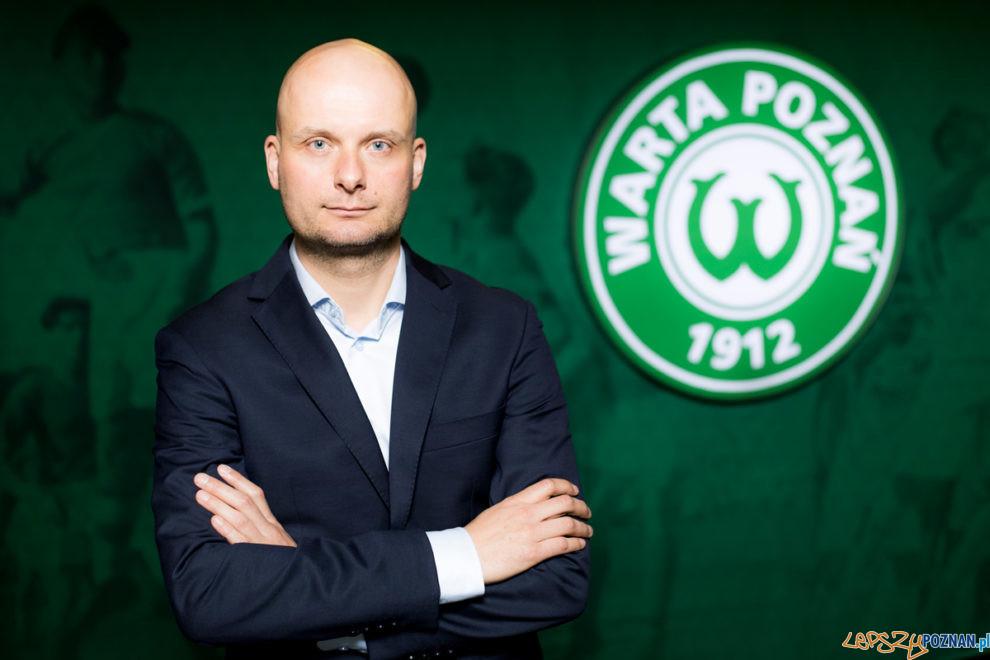 Bartosz Wolny prezes Warty Poznań  Foto: materiały prasowe / Klaudia Berda / Warta Poznań