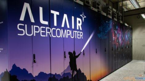 Superkomputer `Altair  Foto: materiały prasowe / PCSS