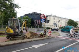 Nowa zebra na Przybyszewskiego  Foto: materiały prasowe / ZDM