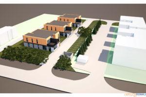 Projekt domów w programie Mieszkań z Dojściem do Własności - Sady 2021  Foto: Gmina Tarnowo Podgórne