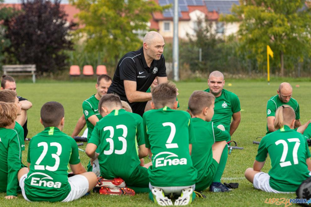 Trening otwarty drużyny amp futbolu Warty Poznań w Skórzewie  Foto: lepszyPOZNAN.pl/Piotr Rychter