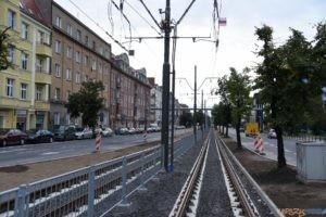 Krolowej Jadwigi tramwaj torowisko przystanek 2017_09_03 (26)  Foto: UMP / materiały prasowe