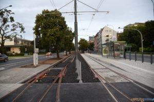 Krolowej Jadwigi tramwaj torowisko przystanek 2017_09_03 (28)  Foto: UMP / materiały prasowe